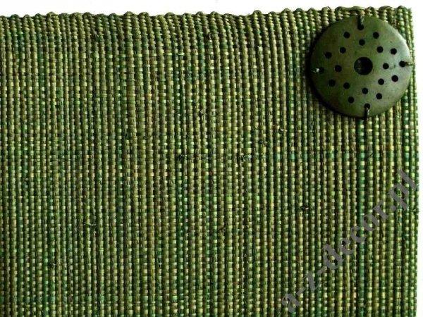 Podkładki na stół - Ciemna oliwka - Z rafii - 33x48cm