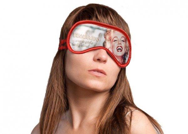 Opaska na Oczy - Daydream - Wzór Diamonds