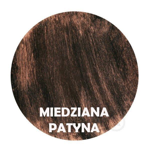 miedziana patyna - Kolorystyka metalu - Kwietnik -  Ścienny - Sklep decoart24.pl