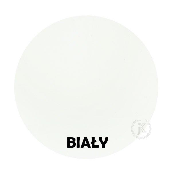 Biały - kolorystyka metalu - Kwietnik metalowy - Juka - Sklep Online