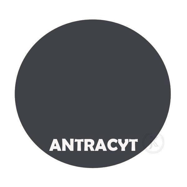 Antracyt - kolor kwietnika - Brzuch 2-ka - DecoArt24.pl