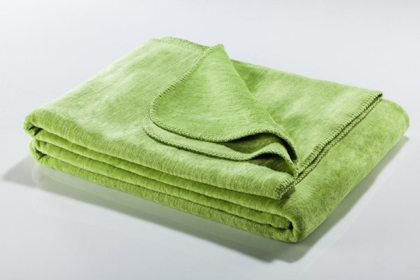 Koc - Zielony - 130x180 cm - SoftLine Green