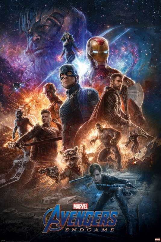 Plakat Z Filmu Avengers Endgame From The Ashes