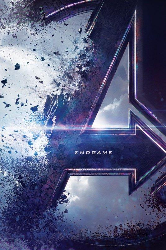 Plakat Filmowy Avengers Endgame Logo