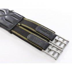 KAVALKADE SOFT Ekstra miękki skórzany popręg z elastycznymi gumami 24H