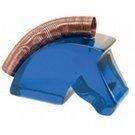 Stojak HR na kartki w kształcie konia niebieski