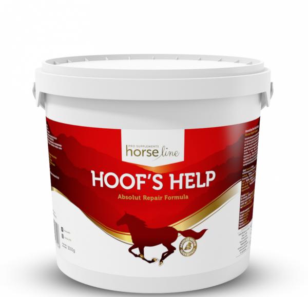 HorseLinePRO Hoof`s Help Regeneracja i wzmocnienie słabych kopyt konia 3,5kg 24H