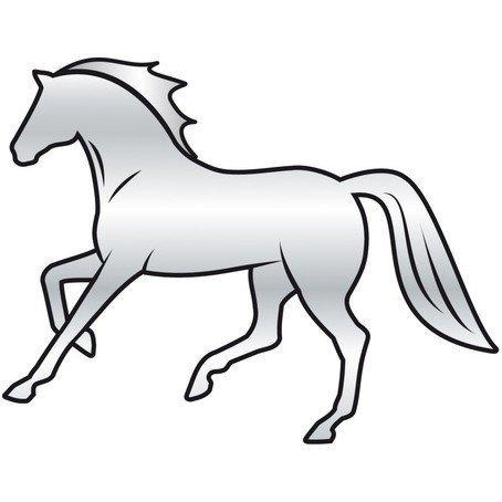 HR Naklejki lustrzane z końmi