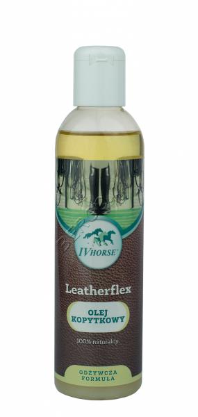 IV HORSE LEATHERFLEX Olej kopytkowy do skór 250ml 24H