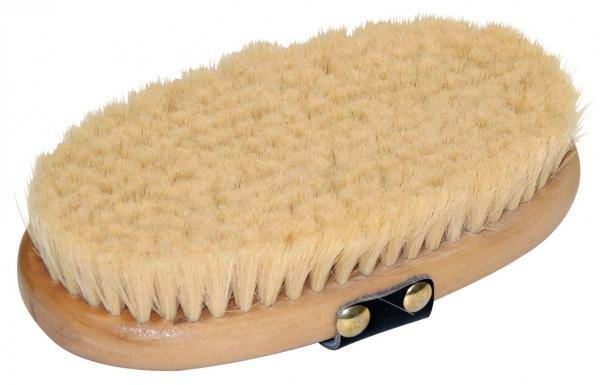 KERBL Brush&Co Szczotka dla konia dla koni z koziego włosia