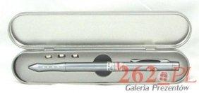 Długopis ze wskaźnikiem laserowym 3w1 w etui+GRAWER