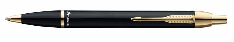 Długopis Parker IM czarny GT z GRAWEREM +Etui