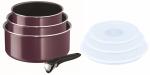 Garnki 16/18/20cm zestaw z pokrywami Tefal Ingenio ESSENTIAL z rączką | 7PCS| L20191 L90192