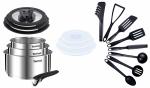 Zestaw L9254S14 Tefal Ingenio EMOTION Garnki + rączka + 3 szklane pokrywy + 3 plastikowe pokrywy + AKCESORIA TEFAL BIENVENUE