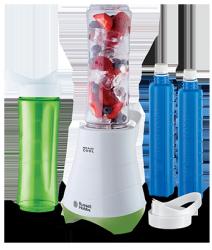 Blender Russell Hobbs 21350-56 Mix & Go Kitchen #Nowe butelki z wkładem chłodzącym* +1 rok gwarancji*