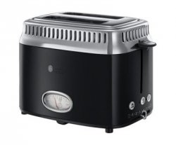 Toster Russell Hobbs Retro Classic Noir 21681-56 #wysyłka G R AT I S#