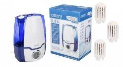 Nawilżacz powietrza Camry CR 7952 | Jonizacja | 4 filtry na wyposażeniu