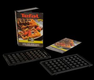 Zestaw do przygotowywania gofrów XA800412 Tefal Snack Collection
