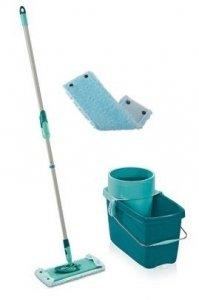 Mop obrotowy Leifheit Clean Twist z 2 nakładkami Extra Soft XL 42 cm | 52015/52016