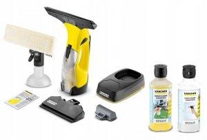 Kärcher ZESTAW myjka do okien WV5 Premium + 2x 500 ml koncentratu środka do czyszczenia szkła RM503 i RM500