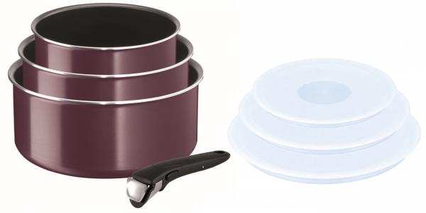 Garnki 16/18/20cm zestawz pokrywami Tefal Ingenio ESSENTIAL z rączką | 7PCS| L20191 L90192