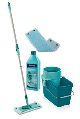 Mop obrotowy Leifheit Clean Twist Extra Soft XL 42 cm + Nakładka Extra Soft + Płyn do płytki   52015/52016/41417