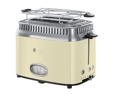 Toster Russell Hobbs Retro Cintage Cream 21682-56