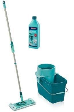 Mop obrotowy Leifheit Clean Twist Extra Soft XL 42 cm + Płyn do powierzchni mocno zabrudzonych | 52015/41418