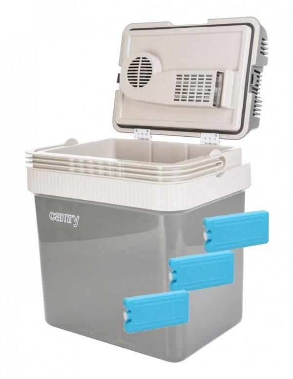 Lodówka turystyczna Camry 24 litry + wkłady chłodzące 180ml | CR8065/3xW180ML