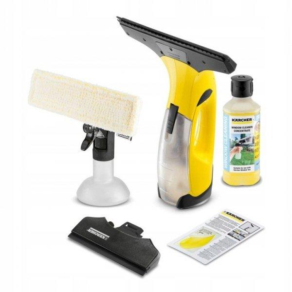 Kärcher ZESTAW myjka do okien WV2 Plus N + 500 ml koncentratu środka do czyszczenia szkła RM503
