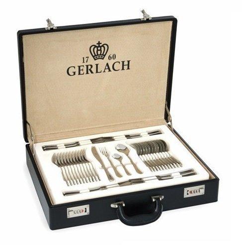 Zestaw sztućce 68 szt. w walizce Gerlach Celestia 04AP (Połysk) #wysyłka G R A T I S#