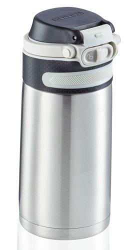 Bidon termiczny Leifheit FLIP 3244 stalowy 350ml SILVER   Kubek termiczny