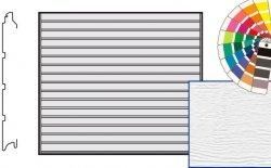 Brama LTE, 2500 x 2375, Przetłoczenia S, Woodgrain, kolor do wyboru
