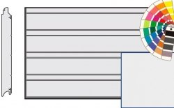 Brama LPU 42, 4500 x 2000, Przetłoczenia D, Silkgrain, kolor do wyboru
