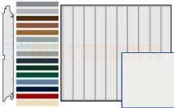 Brama boczna HST, Silkgrain, Przetłoczenia M, kolor do wyboru