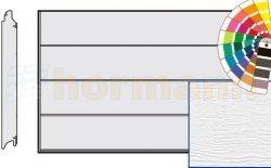 Brama LPU 42, 3250 x 2000, Przetłoczenia L, Woodgrain, kolor do wyboru