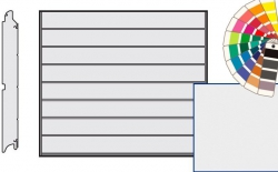Brama LPU 42, 2250 x 2000, Przetłoczenia M, Silkgrain, kolor do wyboru