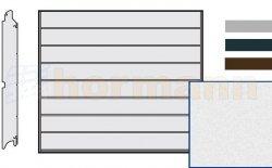 Brama LPU 42, 2750 x 2500 Przetłoczenia M, Sandgrain, kolor do wyboru