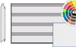 Brama LPU 42, 3000 x 3000, Przetłoczenia T, Silkgrain, kolor do wyboru