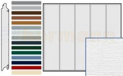 Brama boczna HST, Woodgrain, Przetłoczenia L, kolor do wyboru