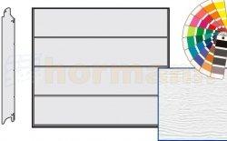 Brama LPU 42, 2375 x 1875 Przetłoczenia L, Woodgrain, kolor do wyboru