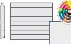 Brama LPU 42, 2190 x 1955, Przetłoczenia M, Silkgrain, kolor do wyboru