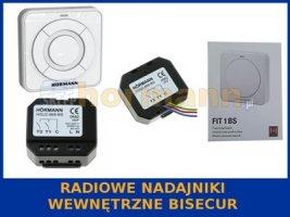 Radiowe nadajniki wewnętrzne BiSecur