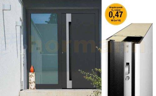 Drzwi aluminiowe ThermoCarbon