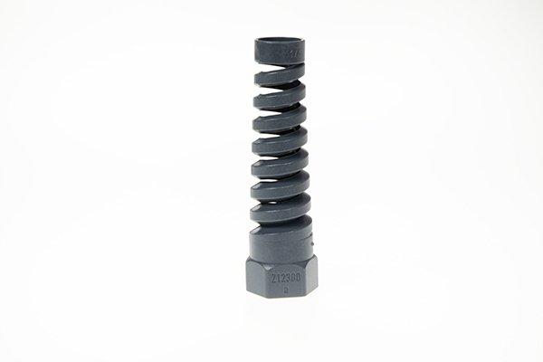 Osłona elastyczna przewodu M16, czarna do Portronic D 5000 / D 2500