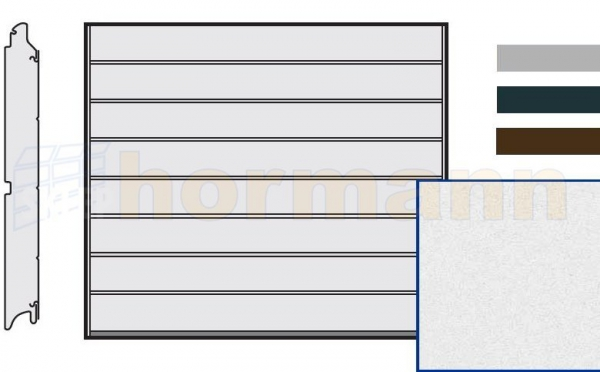 Brama LPU 42, 2500 x 2000, Przetłoczenia M, Sandgrain, kolor do wyboru