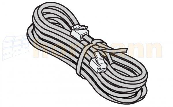 Przewód systemowy, 4-żyłowy z wtyczką systemową, szer. bramy od 5810 do 6800 mm, dł. przewodu 7500 mm