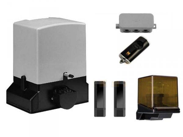 ZESTAW: napęd STA 90 (do 900 kg, do 10 metrów) + pilot HSE 2 BS + lampka LED SLK + fotokomórki