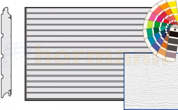 Brama LPU 42, 5000 x 2125, Przetłoczenia S, Woodgrain, kolor do wyboru