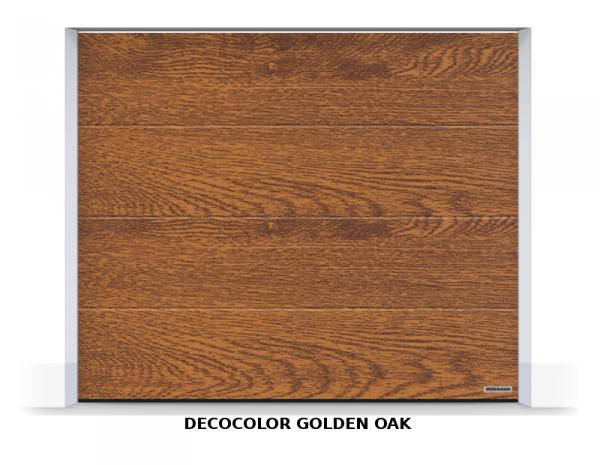 Brama segmentowa RenoMatic 2019, 2500 x 2000, Przetłoczenia L, Planar / DecoColor, kolor do wyboru